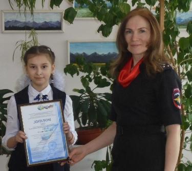 Школьница Усть-Илимского района победила в областном конкурсе творческих работ