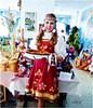 Новочунская девушка осваивает новый конкурс красоты