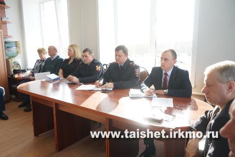 Состоялось заседание антитеррористической комиссии