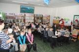 Участники литературного праздника в МКУК «Межпоселенческая центральная библиотека»