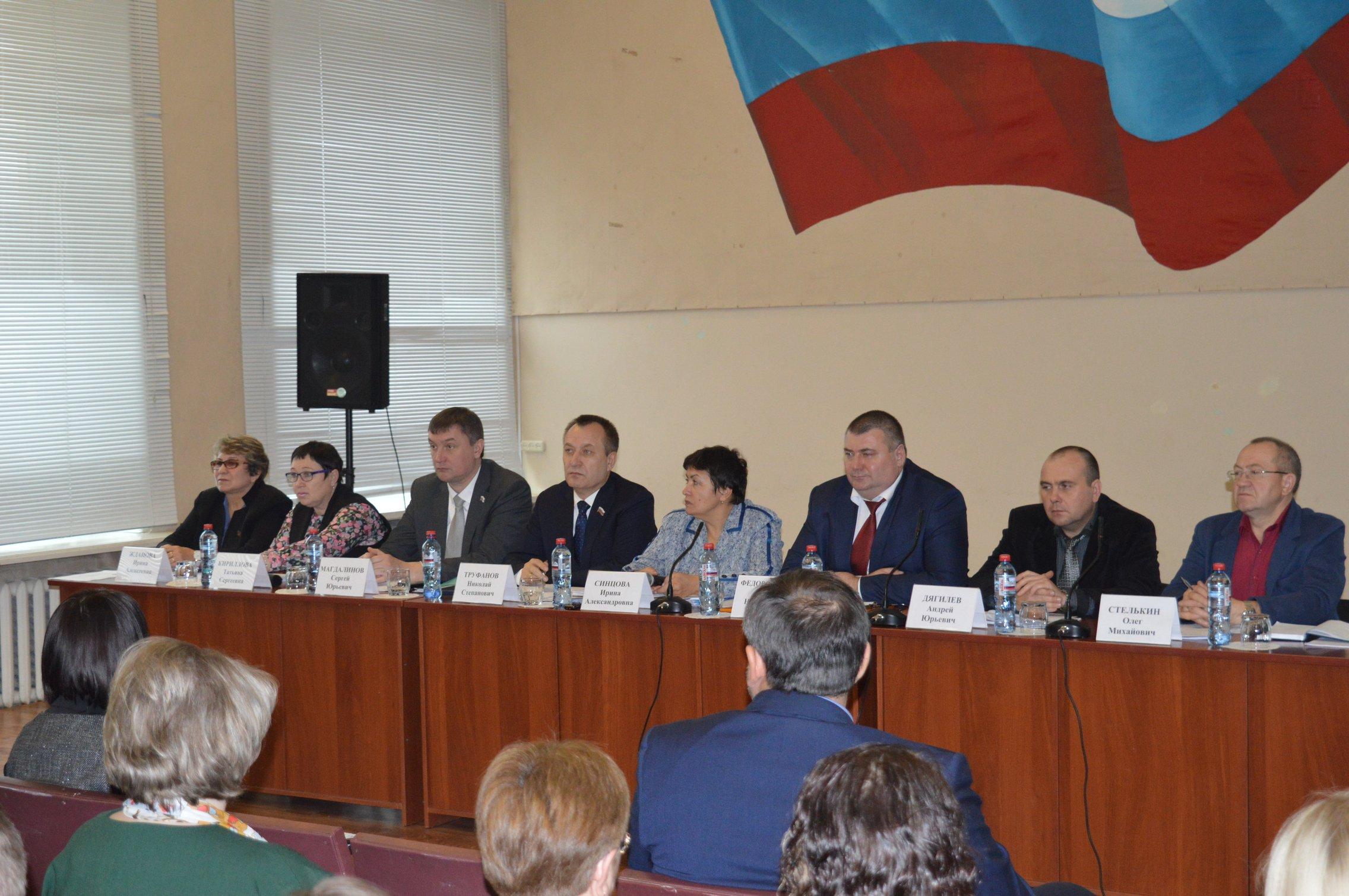 Семинар Законодательного Собрания Иркутской области 8 ноября 2017 года собрал сразу три района: Качугский, Жигаловский и Казачинско-Ленский