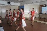 Выступление для гостей и участников танцевального коллектива Палитра