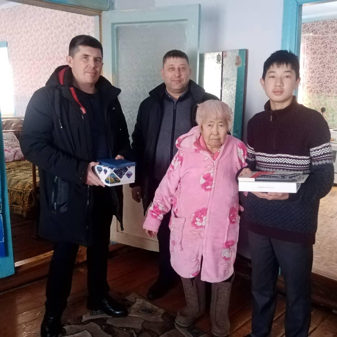 Сегодня побывали в с. Харбатово и познакомились с замечательным парнем, учеником Харбатовской средней школы Артемом Индык.