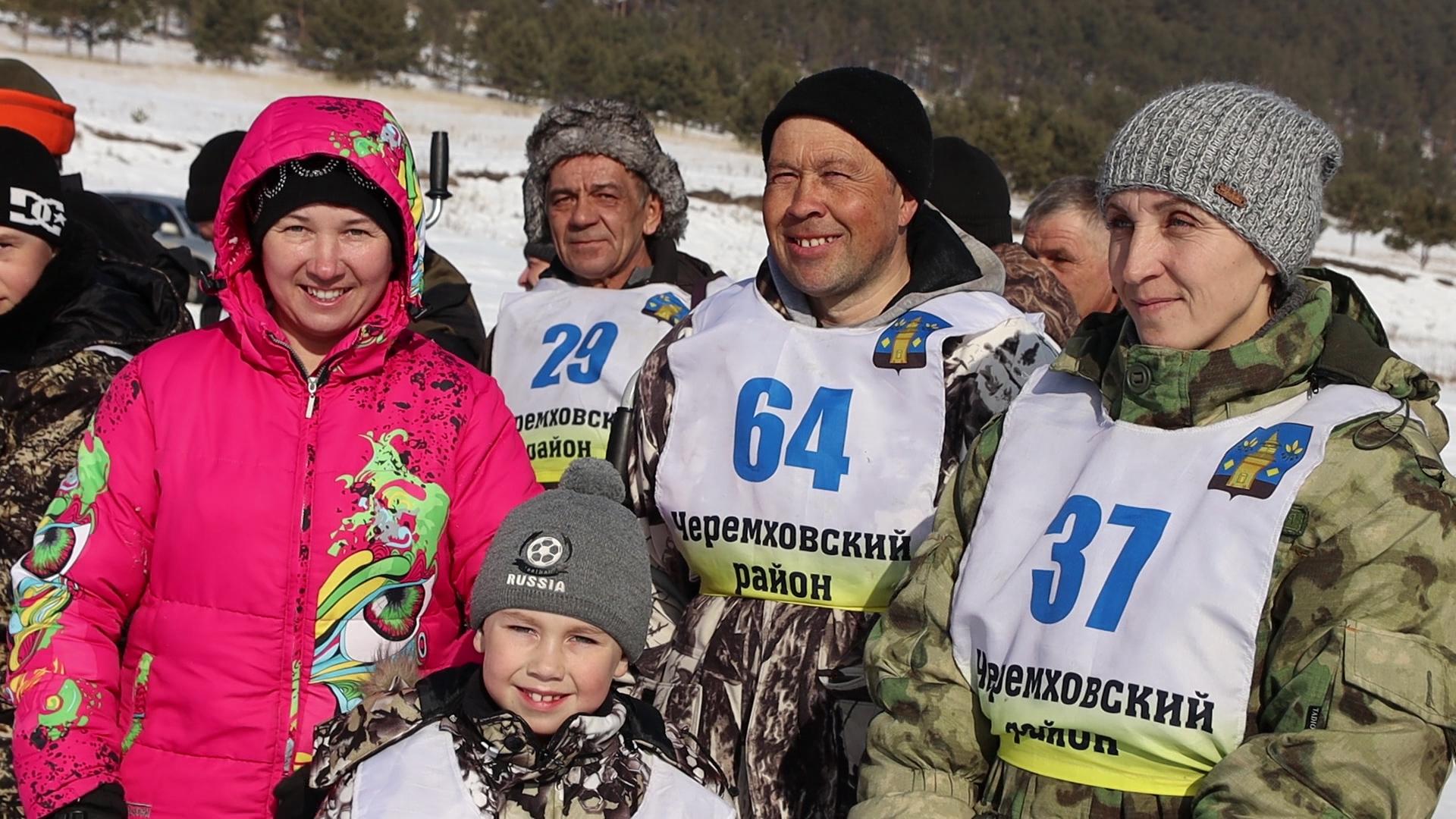 В Черемховском районе прошел первый турнир по подледной ловле рыбы