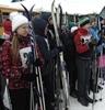 Лыжные гонки посвящались Дню зимних видов спорта