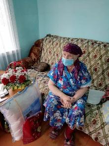 26 мая 2020 года исполнилось 90 лет ветерану, труженице тыла Прокопьевой Екатерине Ивановне