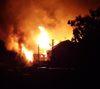 Ночью на пожаре в Октябрьском погибли два пенсионера