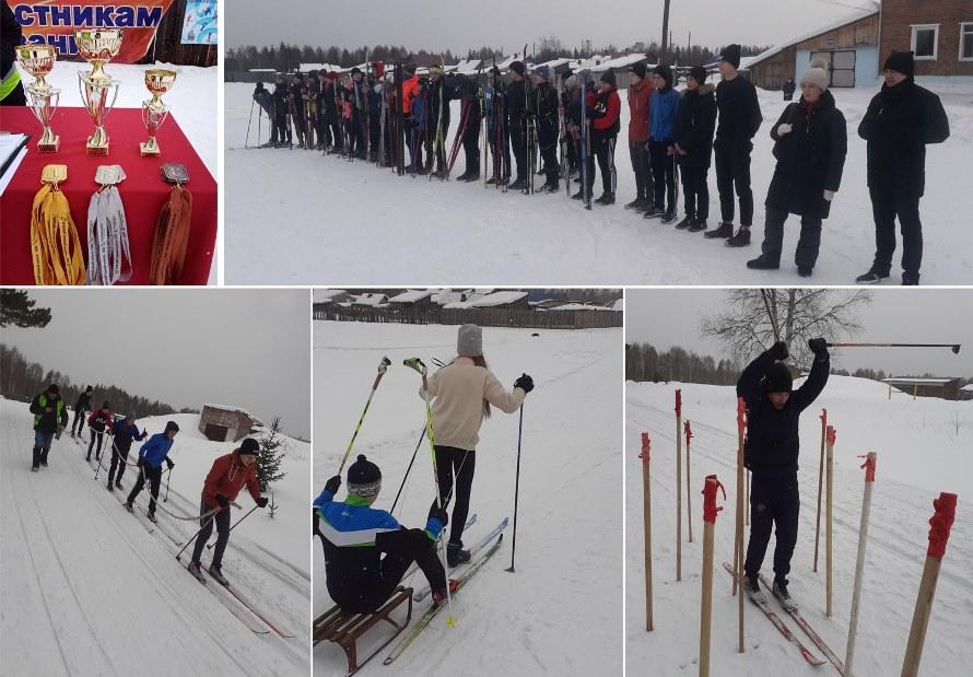 Школьники вышли на  «Зимний полигон»