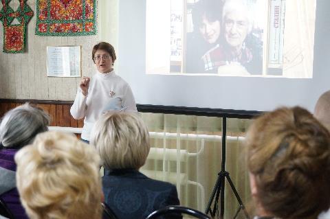 Творческие встречи с поэтессой Татьяной Безридной на Тайшетской земле