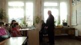 В. Забелло и В. Нефедьев на встрече с жителями п. Ершово