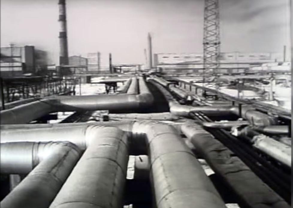25.01.2016 Восточно сибирский завод огнеупоров, январь 1976