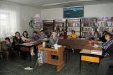 Участники семинара - специалисты библиотек поселений
