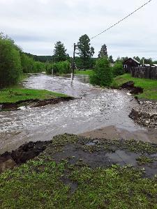 Повышение уровня воды выше критического