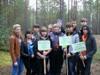 В районе прошла акция по уборке лесного массива