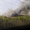 25 апреля горел лесной массив в районе телевышки
