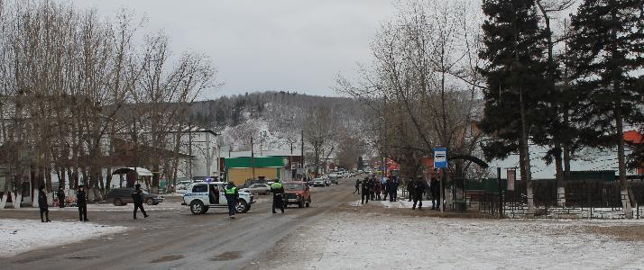 Сотрудники полиции МО МВД России «Боханский»   провели антитеррористическую тренировку