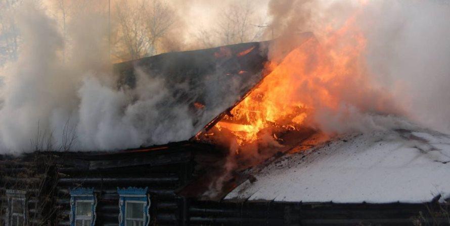 За прошлую неделю произошло два пожара в жилом секторе