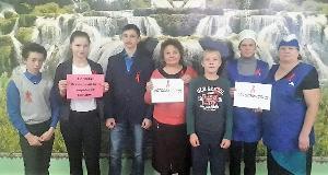 Акция «Стоп ВИЧ/СПИД» в Тулунском районе