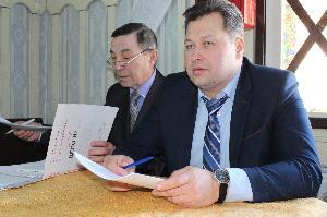Мэр Усть-Илимского района отчитывается перед поселянами о работе за год