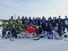 22 февраля в селе Кундуй  прошел районный турнир по хоккею с шайбой памяти А.Н. Бородавкина.