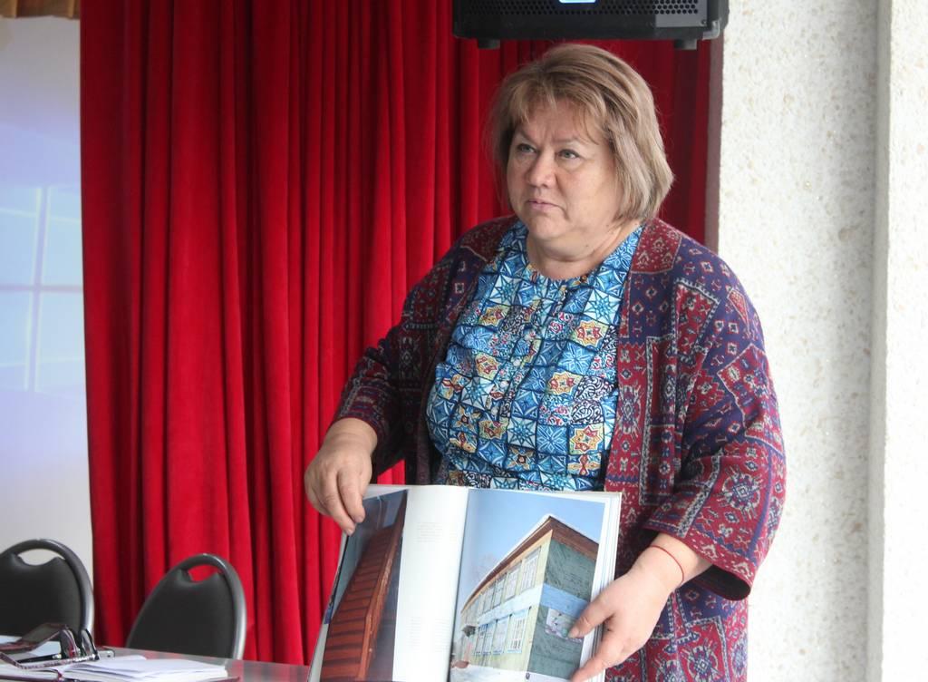Г.В. Афанасьева-Медведева в Усть-Илимском районе