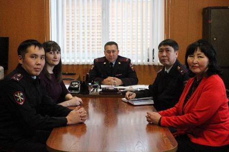 В рамках первого заседания Общественный совет  МО МВД России «Боханский» ознакомился с работой ИВС