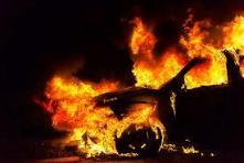 Пожары автомобилей в Иркутской области