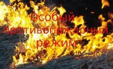 Пожарно-спасательная служба Иркутской области сообщает, что с 10 апреля по 15 июня 2019 г. на территории Иркутской области вводится особый противопожарный режим