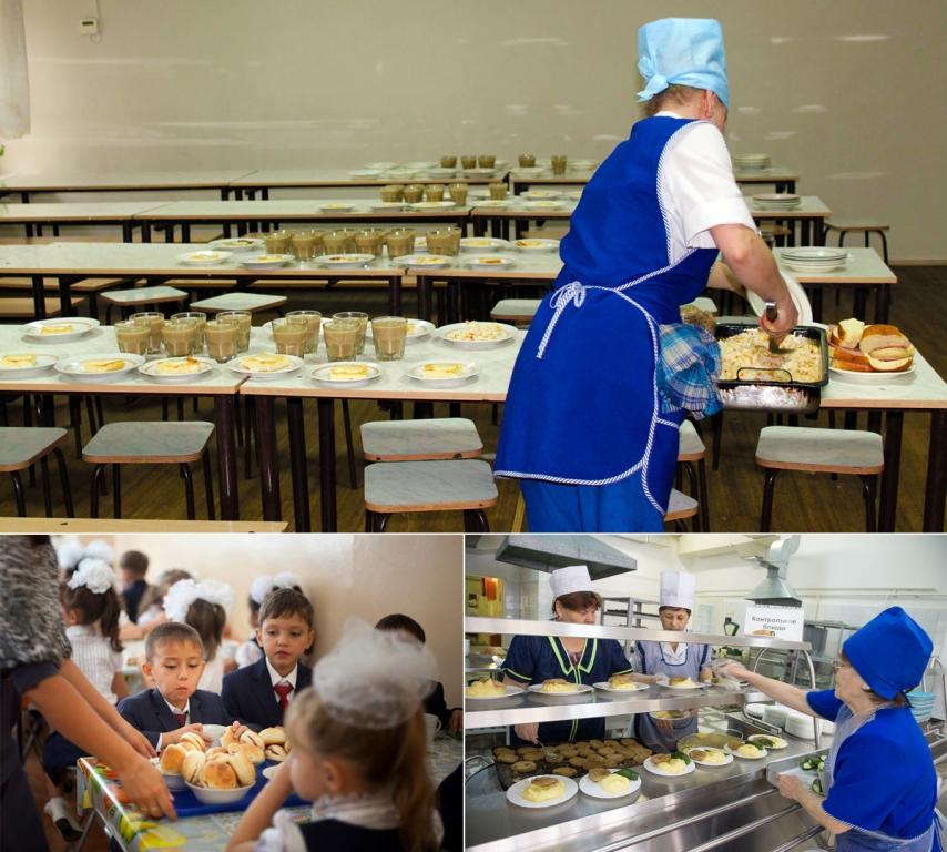 Для школьников организовано двухразовое питание