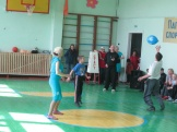 семейный волейбол