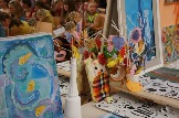 Выставка работ обучающихся художественного отделения~1