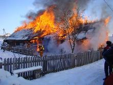 В Иркутской области на пожарах гибнут дети.
