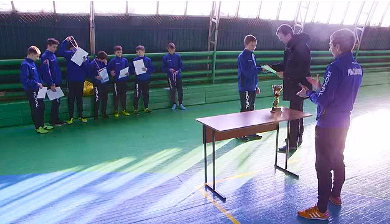 01.02.2016 Футболисты Михайловки