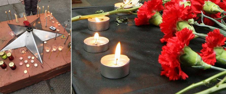Вся страна скорбит по погибшим в Кемерово