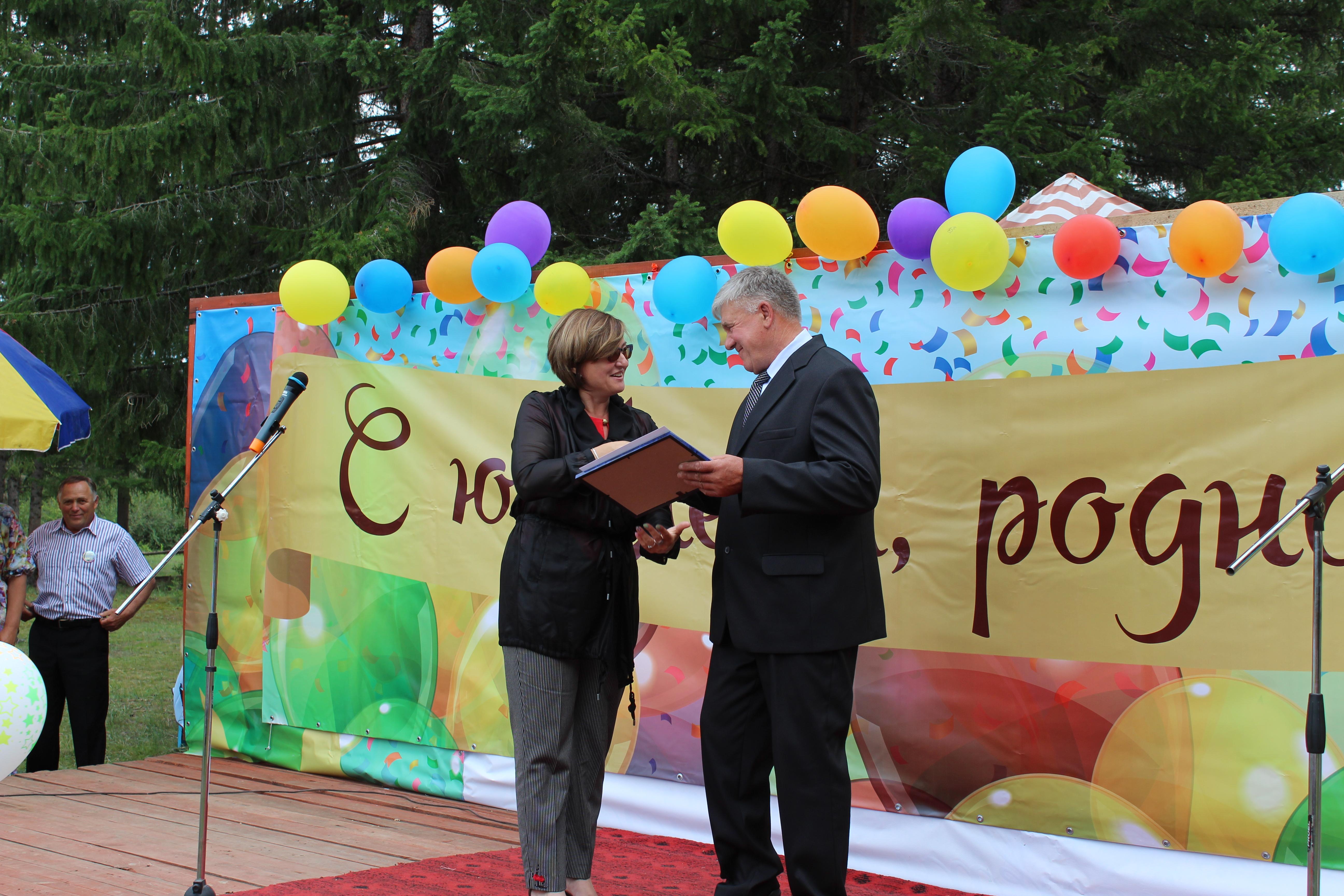 с. Бирюлька отпраздновали 350-летие родного села