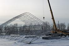 В Куйтуне возводится крытый хоккейный корт