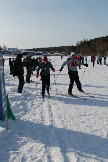 Лыжная эстафета VIPов