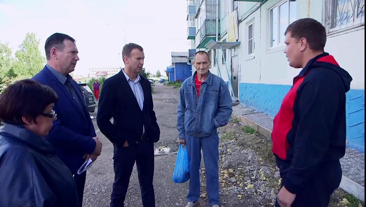 25.08.2017 Побойкин проинспектировал Михайловку!