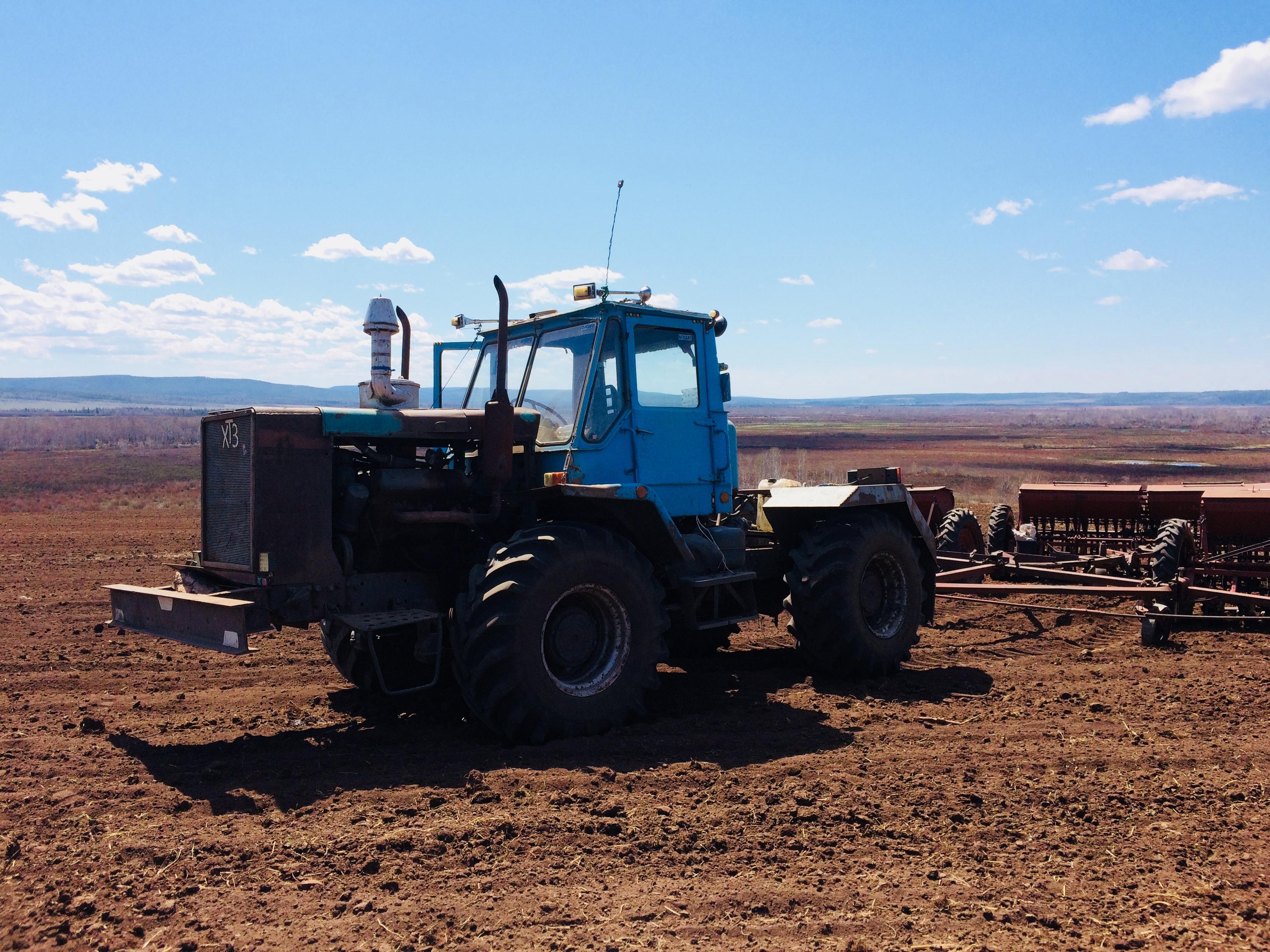 Посев зерновых культур в Качугском районе завершен!