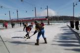 Соревнования по хоккею с мячом на валенках