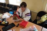 Участник конкурса Деревенская красавица-искусница Попова Т.П. с куколкой Рябинка