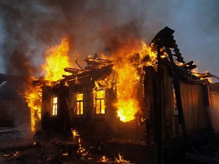 Участились случаи поджогов.