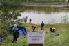 Нефтяники провели учения на реке Чуна