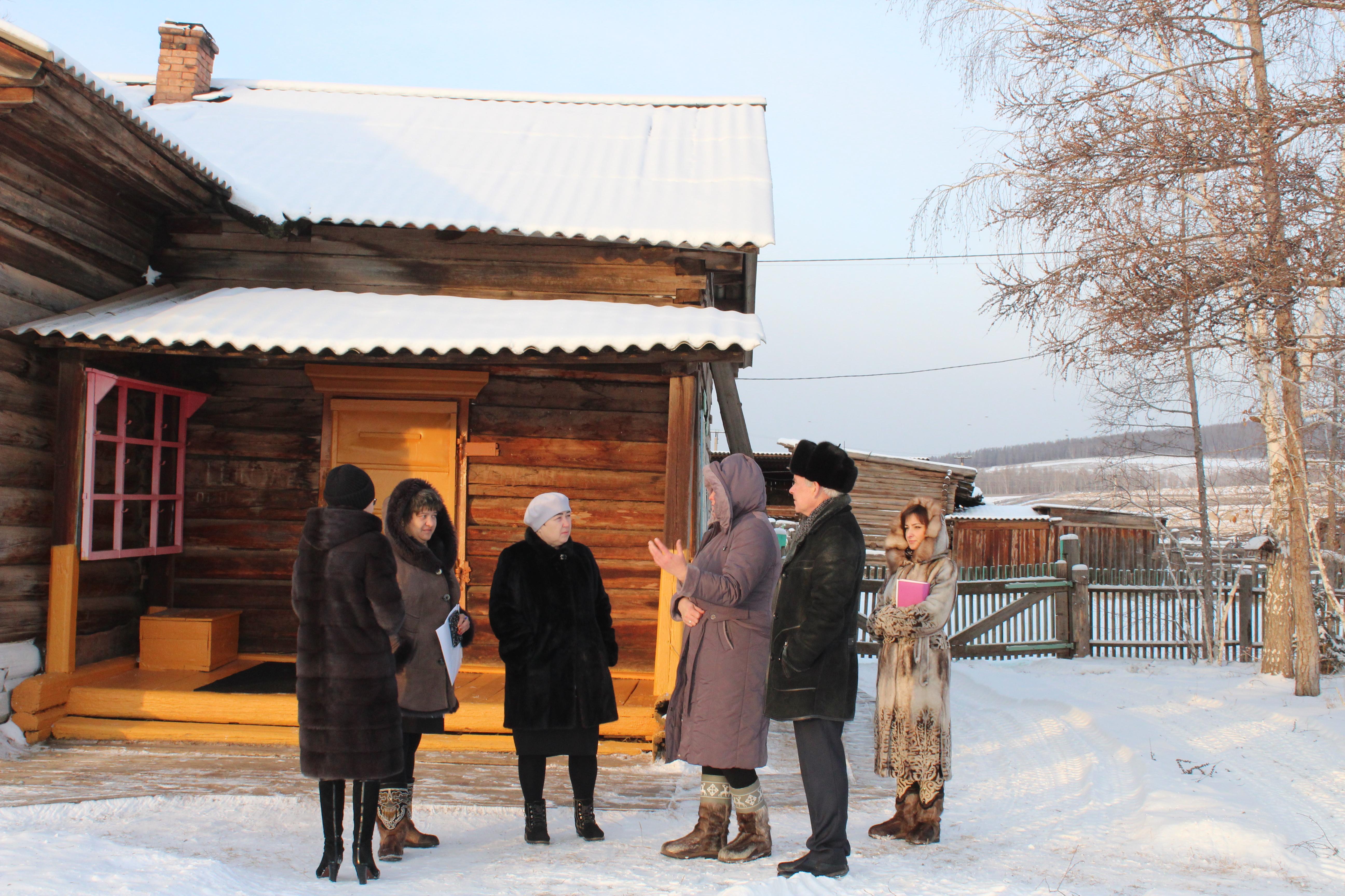 Выезд мэра района в Бутаковское поселение