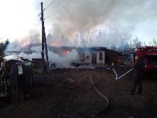 Сообщает служба 01. За 9 месяцев 2018 года пожарными подразделениями в Куйтунском районе спасено более 60 строений.