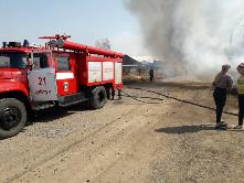 «Сообщает служба 01» За 1 полугодие 2020 года огонь уничтожил и повредил на территории Куйтунского района более 50 строений.