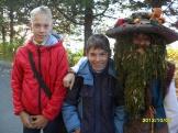 С героем журнала «Сибирячок» -лешим Кешой