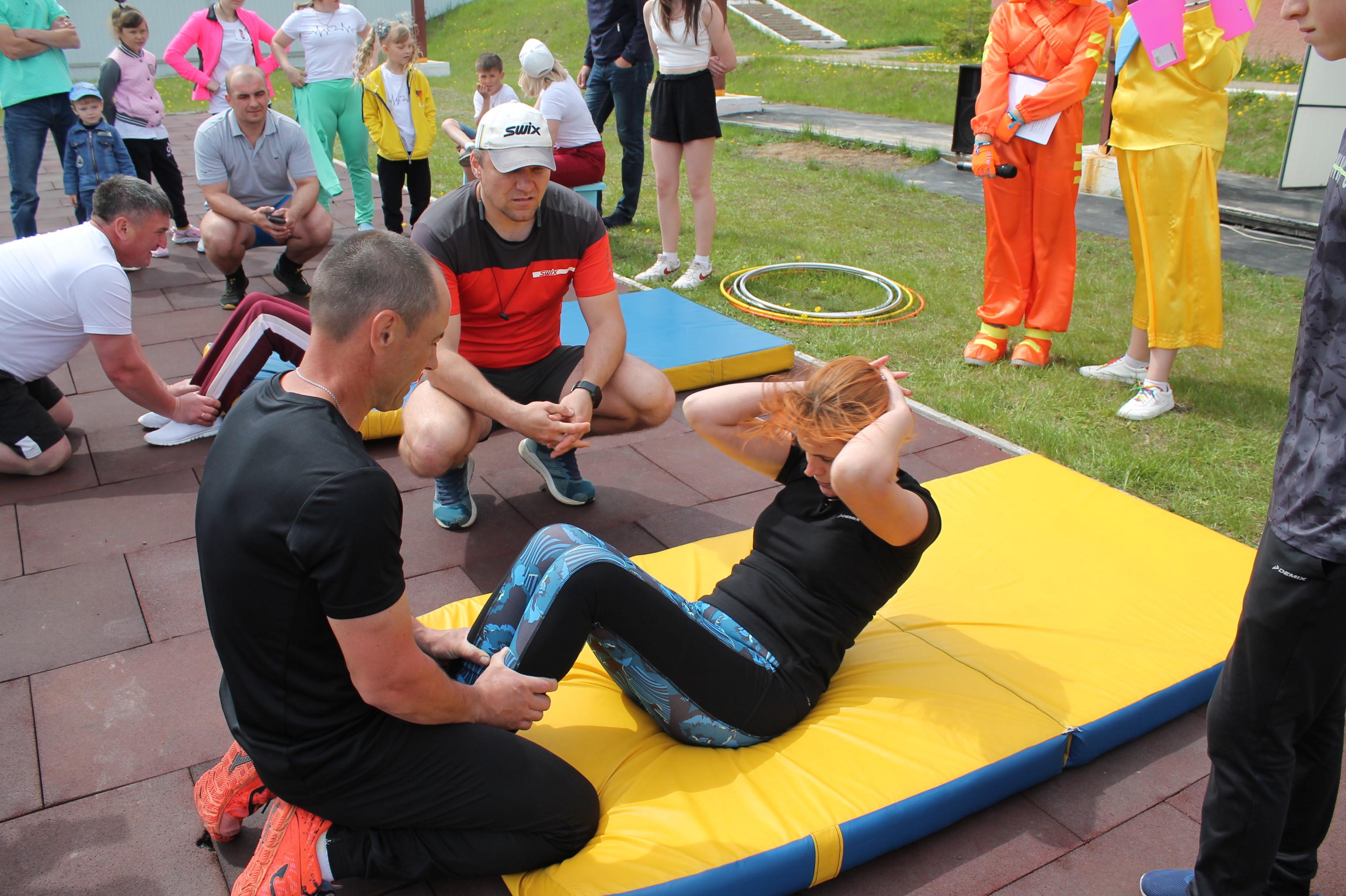 Веселые семейные старты прошли в Усть-Илимском районе