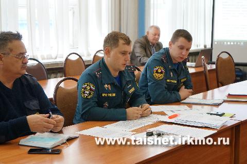 """На заседании КЧС района обсудили исполнение мероприятий """"Дорожной карты"""""""