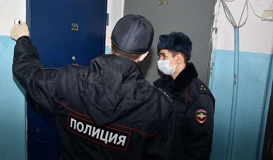 Полиция контролирует жителей, находящихся на самоизоляции после поездок за рубеж